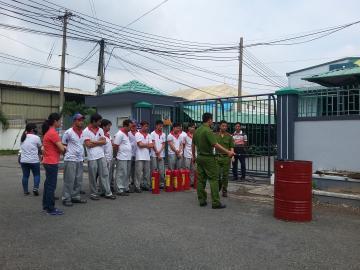 Công ty Pain Asia tổ chức diễn tập phòng cháy chữa cháy