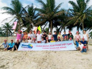 Công ty Paint Asia tổ chức hoạt động ngoài trời cho nhân viên